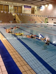 corso preparto piscina