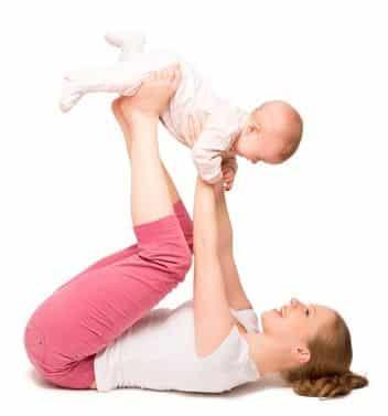 in forma dopo il parto