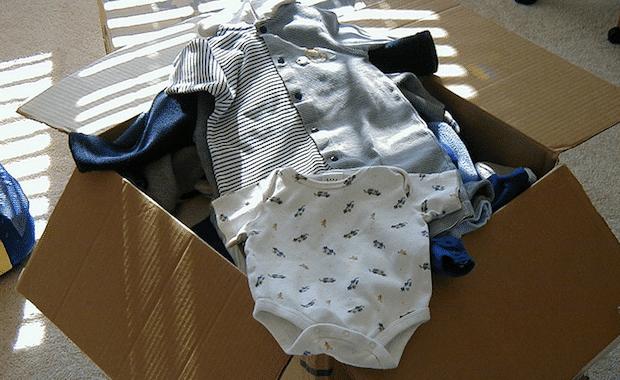 abiti usati per bambini