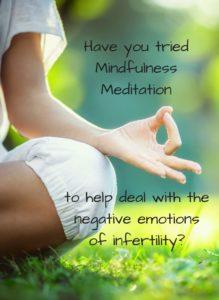 Mindfulness: un aiuto naturale alla fertilità